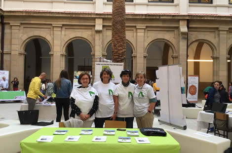 Participación en las ferias de Voluntariado de la Universidad de Deusto y de la EHU-UPV