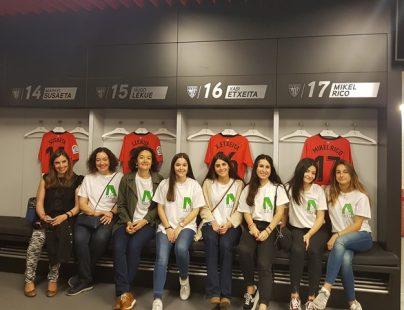 Visita museo del Athletic con Aspanovas
