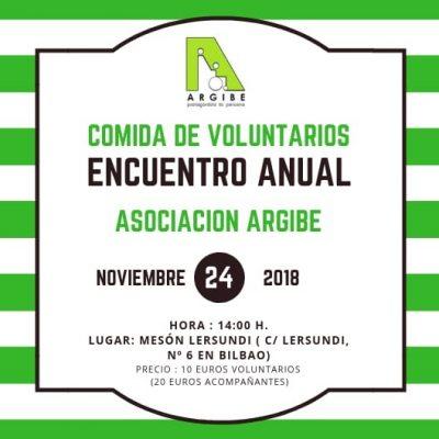 ¡Encuentro de voluntarios 2018!