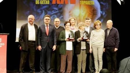 La asociación Argibe recibe el premio a voluntarios del año 2018 en Getxo